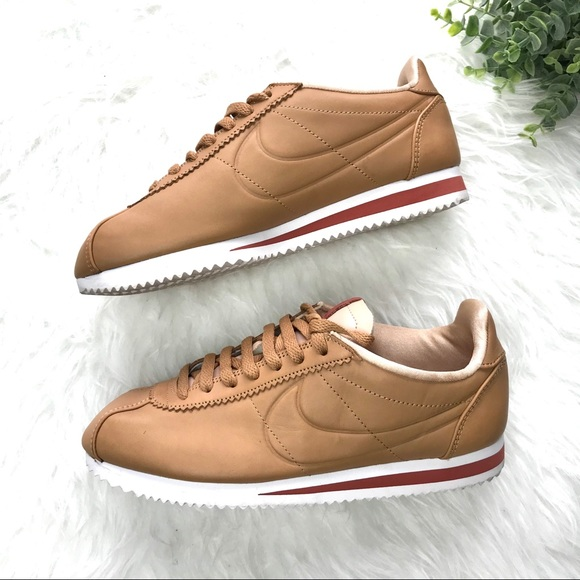 detailed look 93e39 e0f59 Nike Tan Classic Cortez Maria Sharapova LA 2